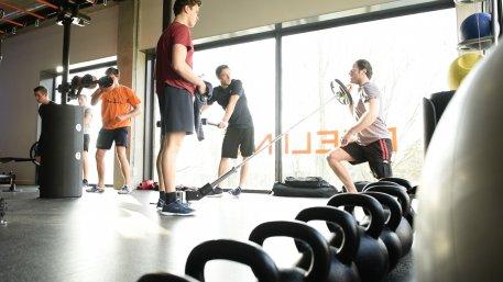 Fitness in groepsverband Wilhelminapark